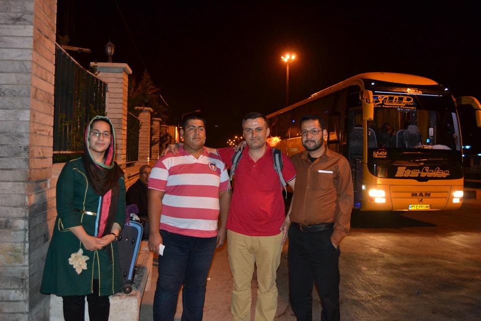 Şiraz Şehir Çıkışı , Polis Kontrol Noktası Zehra  abisi ve Eniştesi
